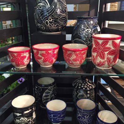 Snow hill Studio Maine Pottery